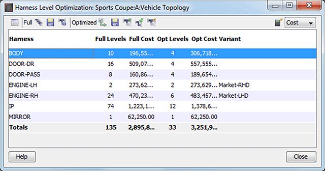 Capital Level Manager Screenshot
