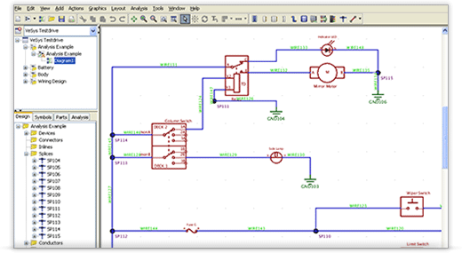 free electronic circuit diagram/schematic drawing software, Circuit diagram